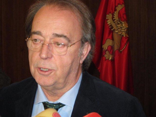 El consejero de Urbanismo de Zaragoza, Carlos Pérez Anadón.