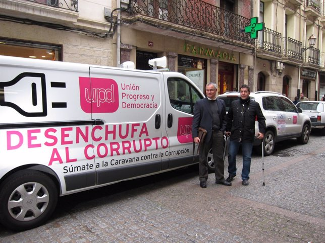Presentación campaña UPyD  'Desenchufa al corrupto'