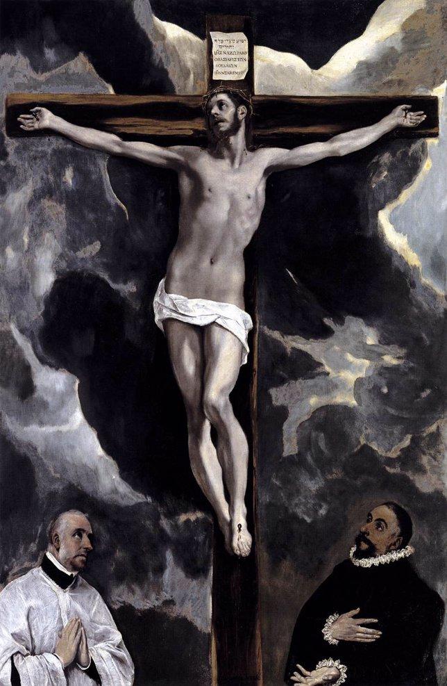 Cristo en la Cruz del Greco