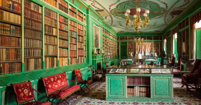 Biblioteca de Palacio de Liria