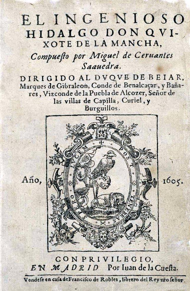 Quijote primera edición