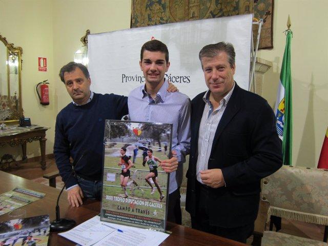 Presentación XXXI Trofeo de campo a través Diputación de Cáceres