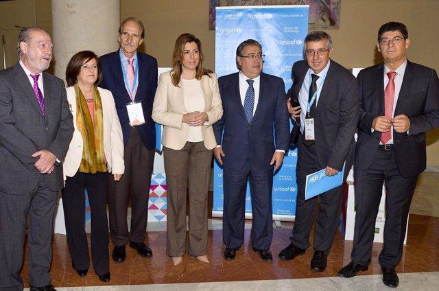Susana Díaz inaugura el IV Congreso Internacional de Unicef