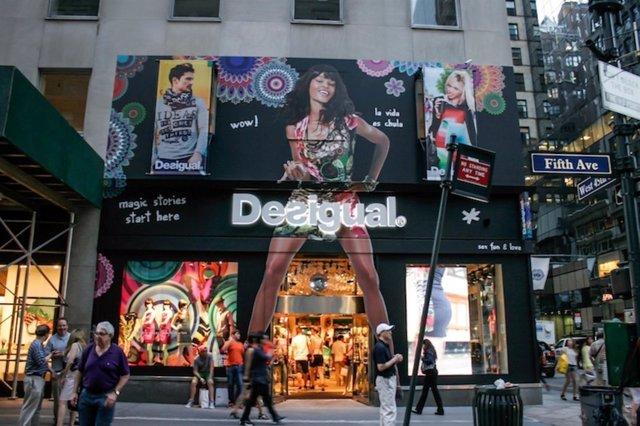 Tienda de Desigual en la Quinta Avenida de NY