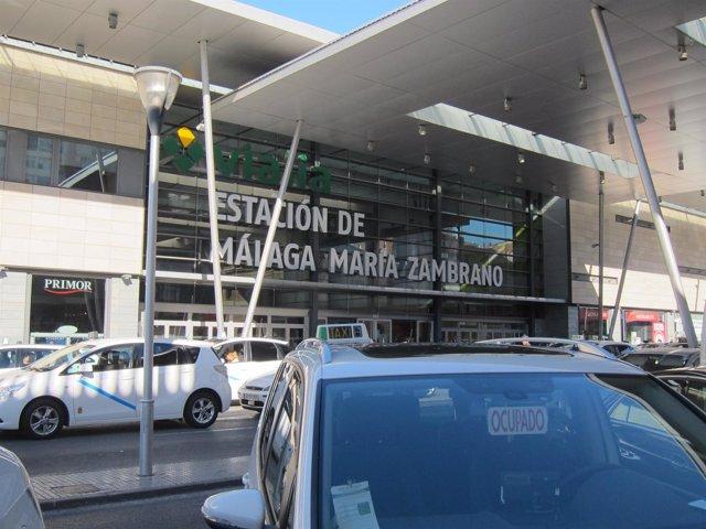 Estación Málaga María Zambrano, Taxi, Tren, estación, Vialia