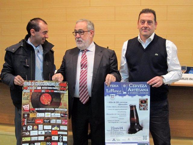 Presentación de la Feria de la cerveza de Invierno y Del vinilo