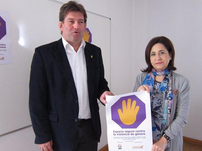 Enrique Arceiz y Teresa Sevillano han presentado la campaña este jueves