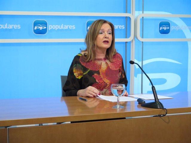 La senadora Francisca Mendiola