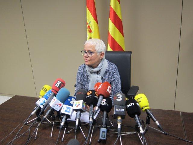 La fiscal jefe de Barcelona, Anna Maria Magaldi