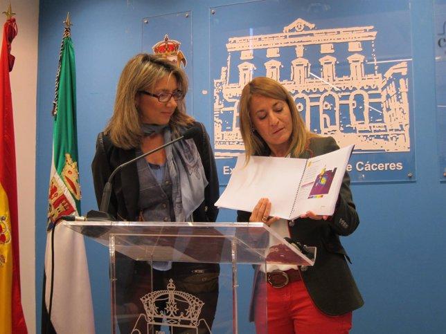 Presentación de la nueva iluminación de la ciudad monumental de Cáceres