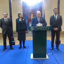 Recepción al cónsul honorario de México en Asturias y León