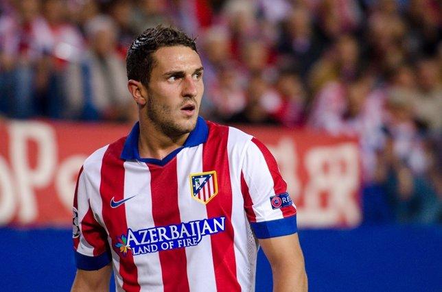 Koke Resurrección, centrocampista del Atlético de Madrid