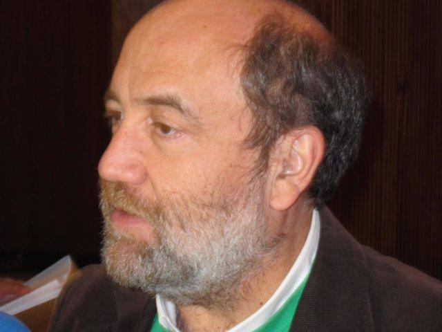 El portavoz de IU-Zaragoza, José Manuel Alonso.