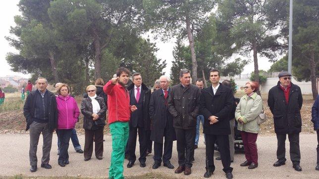 Los consejeros Bono y Oliván visitan el centro