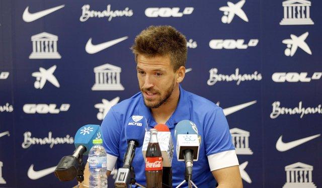 Ignacio Camacho, jugador del Málaga