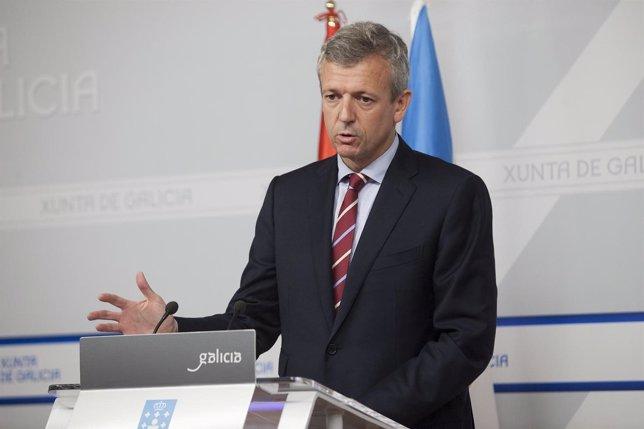 O vicepresidente da Xunta, Alfonso Rueda, comparecerá en rolda de prensa para da