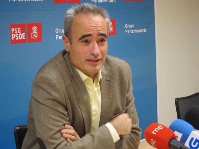 El diputado del PSdeG Juan Carlos González Santín