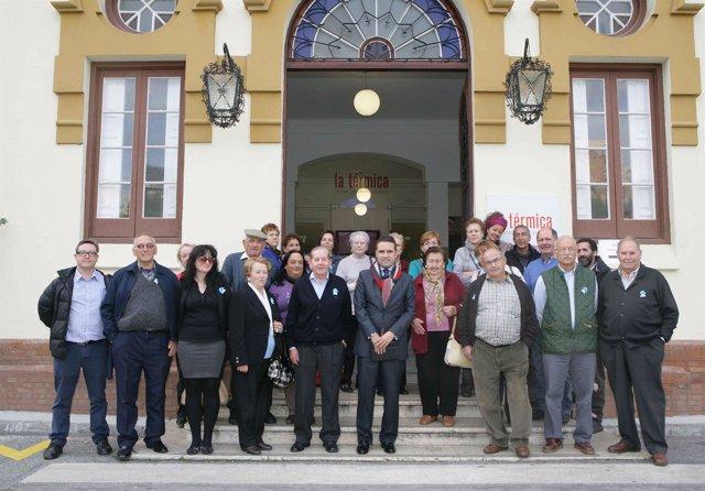 Jacobo Florido con participantes aulas abiertas