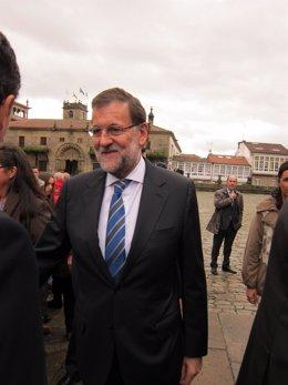 Mariano Rajoy participa en un acto en Galicia