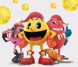 Los personajes de Pac-Man en La Vaguada