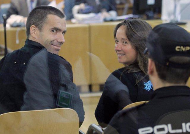 """Ibon Fernández Iradi, """"Susper"""", Y Ainhoa García Montero"""