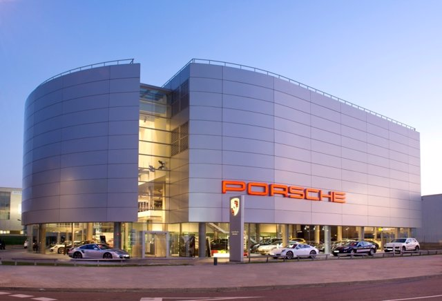 Concesionario de Porsche en Barcelona