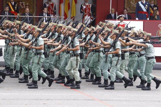 Desfile del 12 de Octubre. Día de la Hispanidad