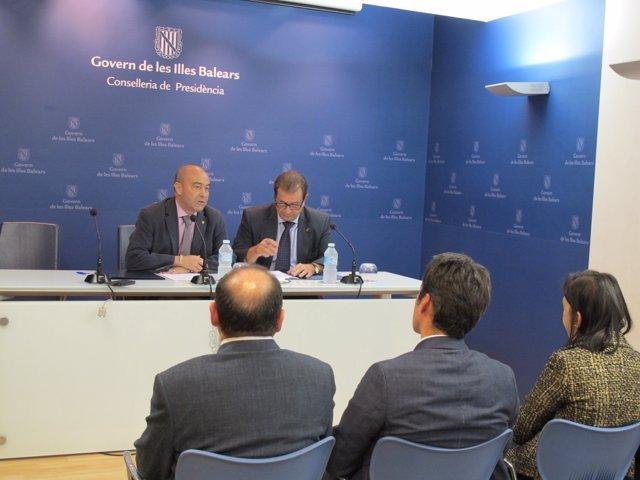 Antonio Gómez y Llorenç Huguet