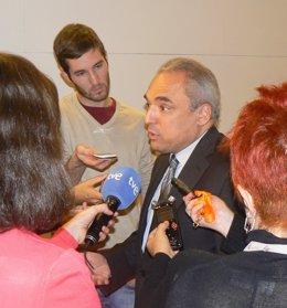 El diputado socialista Rafael Simancas