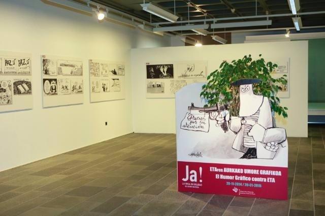 Exposición 'El Humor Gráfico contra ETA'
