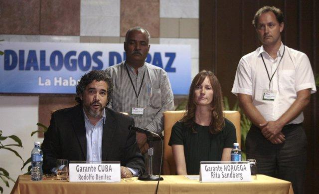 Los discursos de la paz con las FARC.
