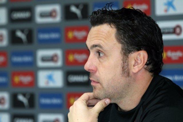 Sergio González, entrenador del RCD Espanyol