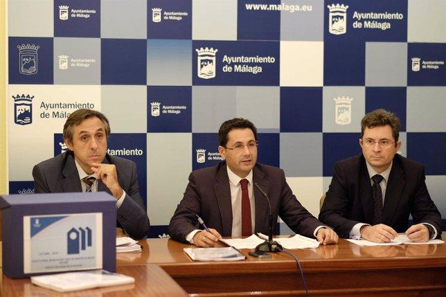 Francisco Pomares, concejal de Ordenación del Territorio y Vivienda Málaga