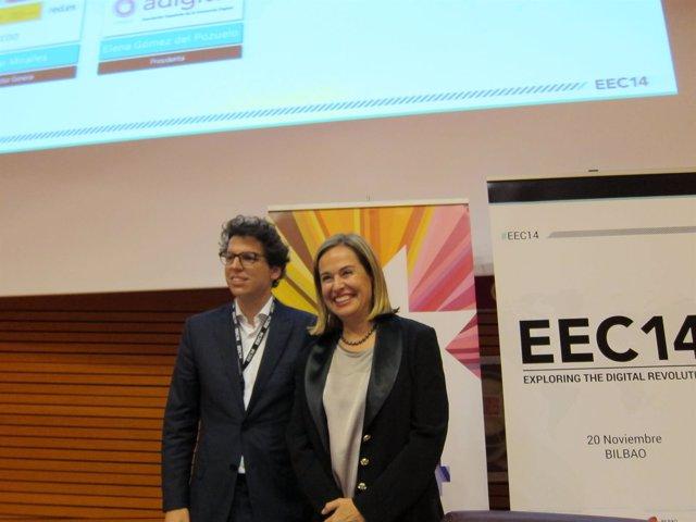 Cesar Miralles y Elena Gómez de Pozuelo