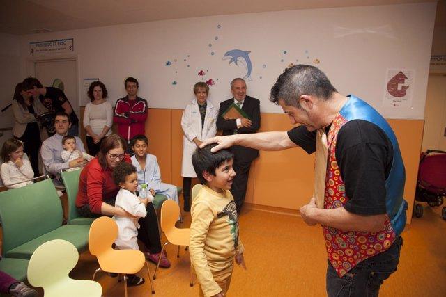Magia pediatria con Nieto y De Los Mártires