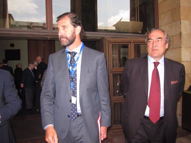 Pedro Luis Fernández y Juan Rosell.