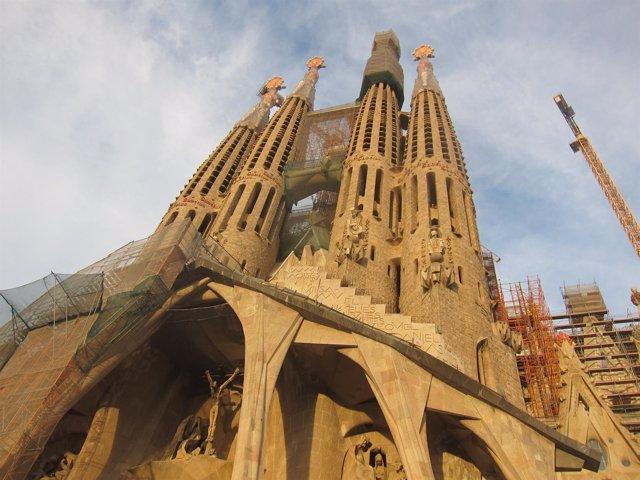 Templo expiatorio de la Sagrada Famlia de Barcelona