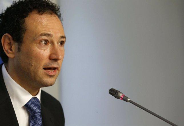 Guillermo Martínez, consejero de Presidencia y portavoz del Gobierno asturiano