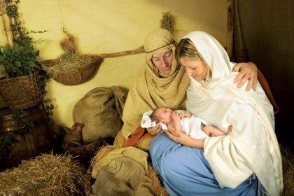 Belenes vivientes de Navidad con niños
