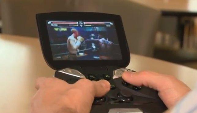 Consola portátil basada en Android de Nvidia Project Shield