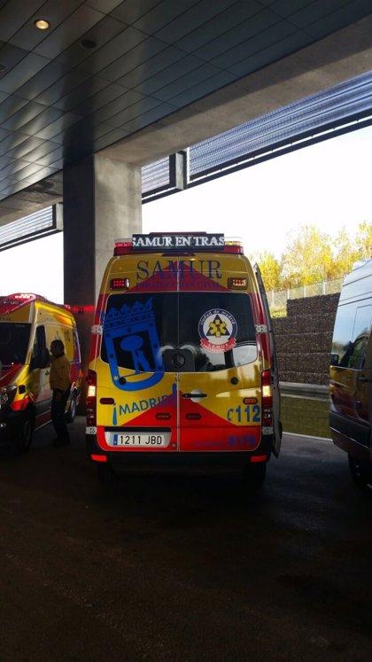 Nuevas ambulancias del Samur informarán con un letrero si van a atender a un paciente o van al hospital