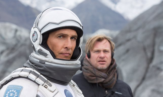 Christopher Nolan con Matthew McConaughey