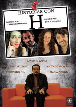 Cartel de 'Historias con H' teatro