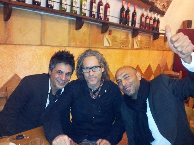 Antonio Muñoz, Fernando Muñoz y David Contreras 'El Cardueli'