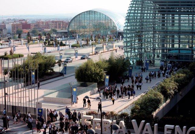 El recinto ferial valenciano