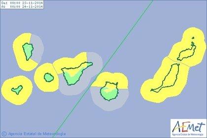 Canarias, en aviso amarillo por fenómenos costeros adversos