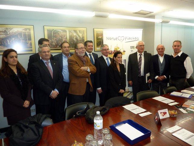 Adhesión Asociación Provincial Hostelería Huesca al Club de Producto Norte.