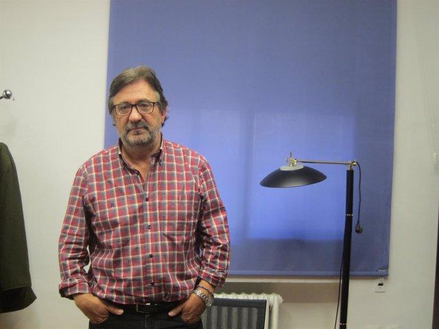El secretario general de CC.OO.-Aragón, Julián Buey.