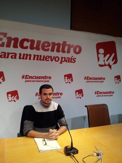 "Alberto Garzón (IU) avisa a Podemos sobre posibles pactos: ""No nos vale la ambigüedad ideológica o programática"""