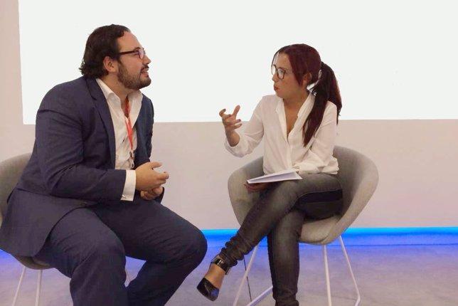 Daniel Abadie y Patricia Hernández